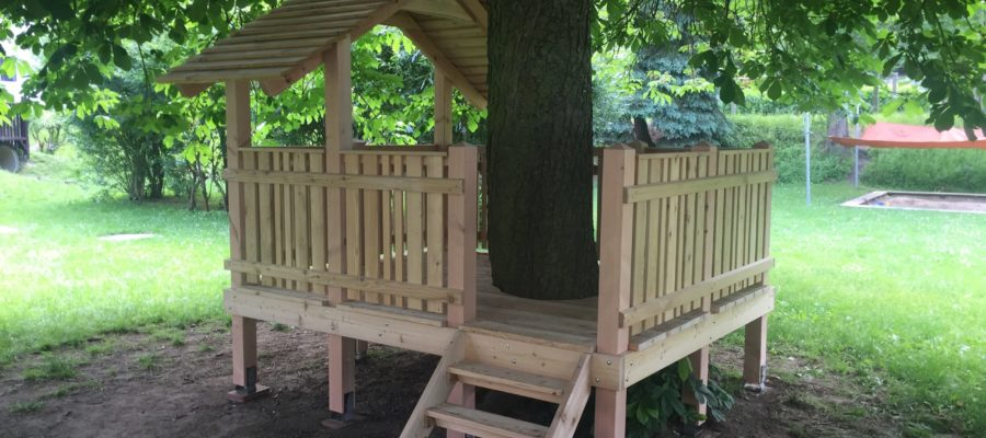 Baumhaus aus Lärche